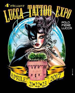 Cover Lucca Tatoo Expo - aprile 2017