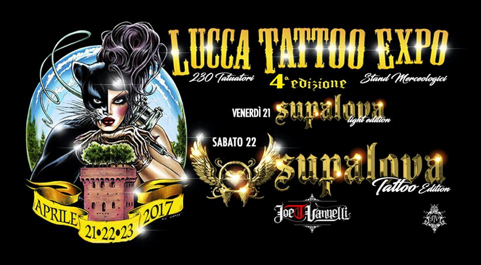 Cover Lucca Tattoo Expo 2017