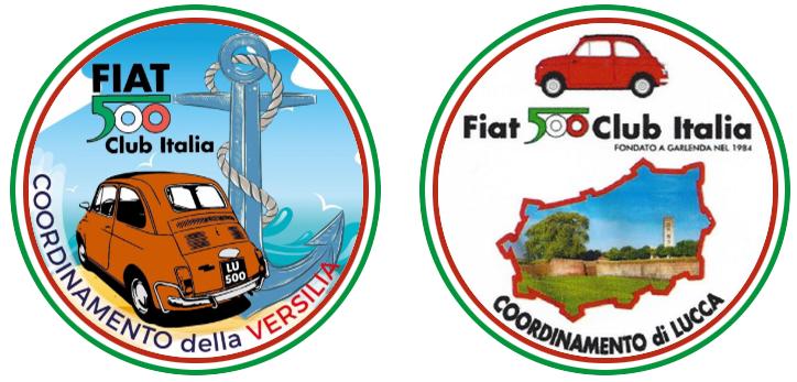 Raduno Fiat 500 Club Italia coordinamento di Lucca e della Versilia